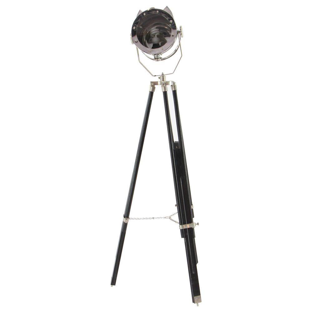 "Maple and Jade 75"" Floor Lamp in Black, , large"