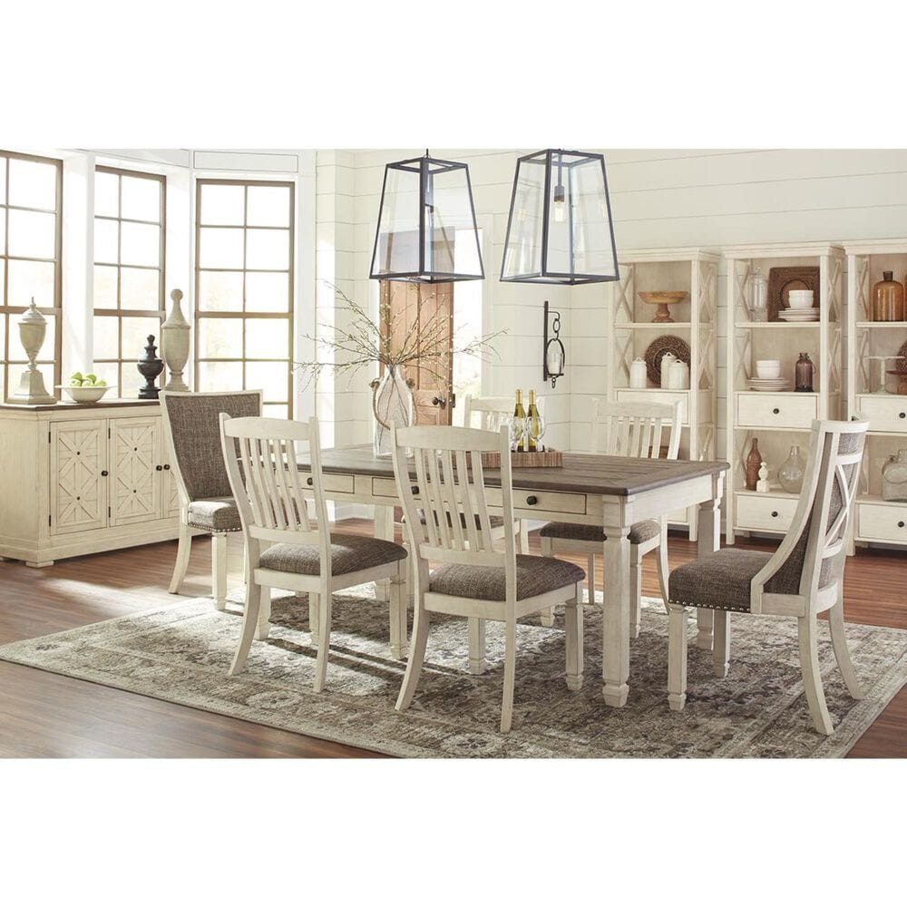 Signature Design by Ashley Bolanburg Host Chair in Antique White, , large
