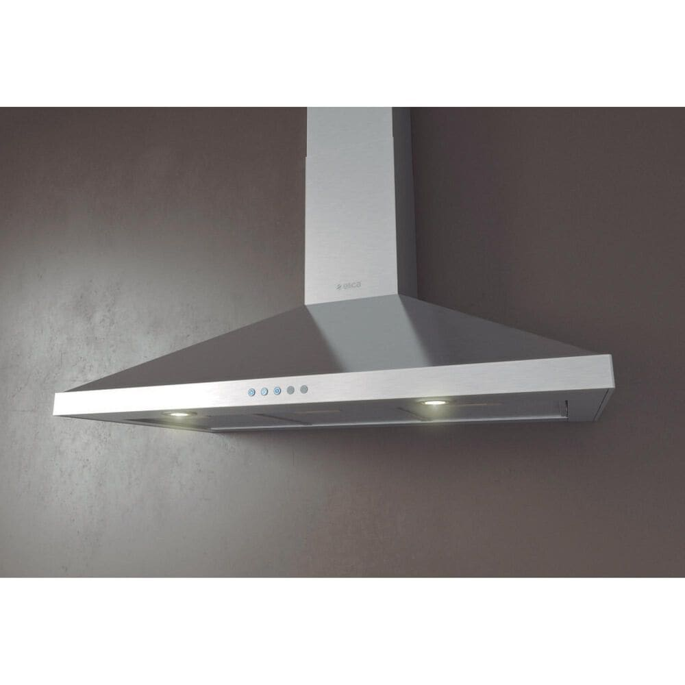 """Elica Volterra 36"""" Chimney Wall Hood in Stainless Steel, , large"""
