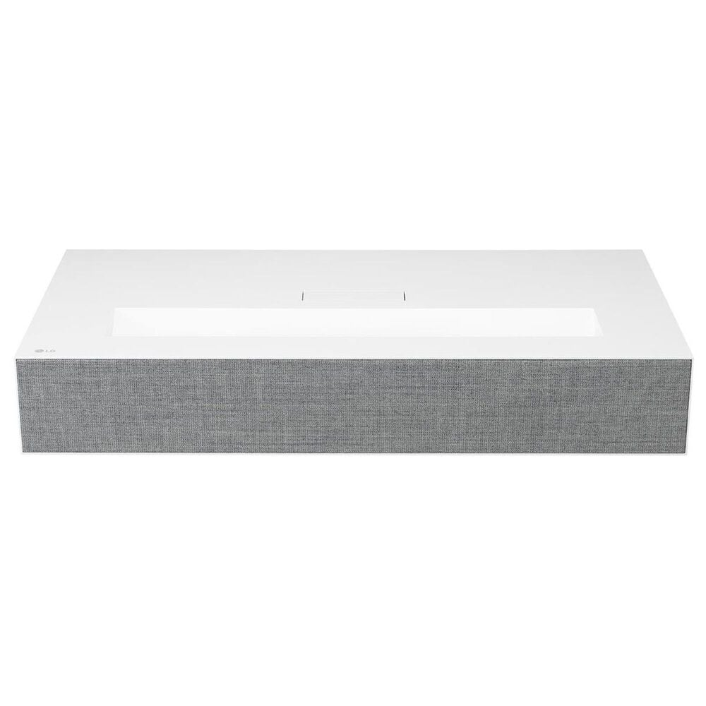 LG 4K UHD Laser Smart Home Theater CineBeam Projector in White, , large