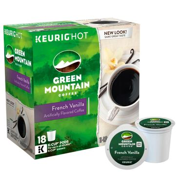 Keurig Green Mountain French Vanilla Coffee K-Cups 18 Count , , large
