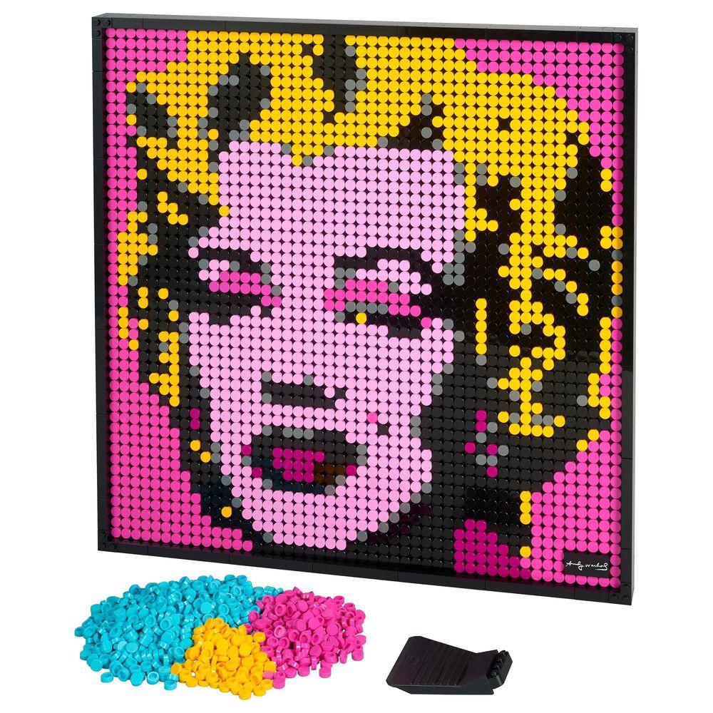LEGO Art Andy Warhol's Marilyn Monroe, , large