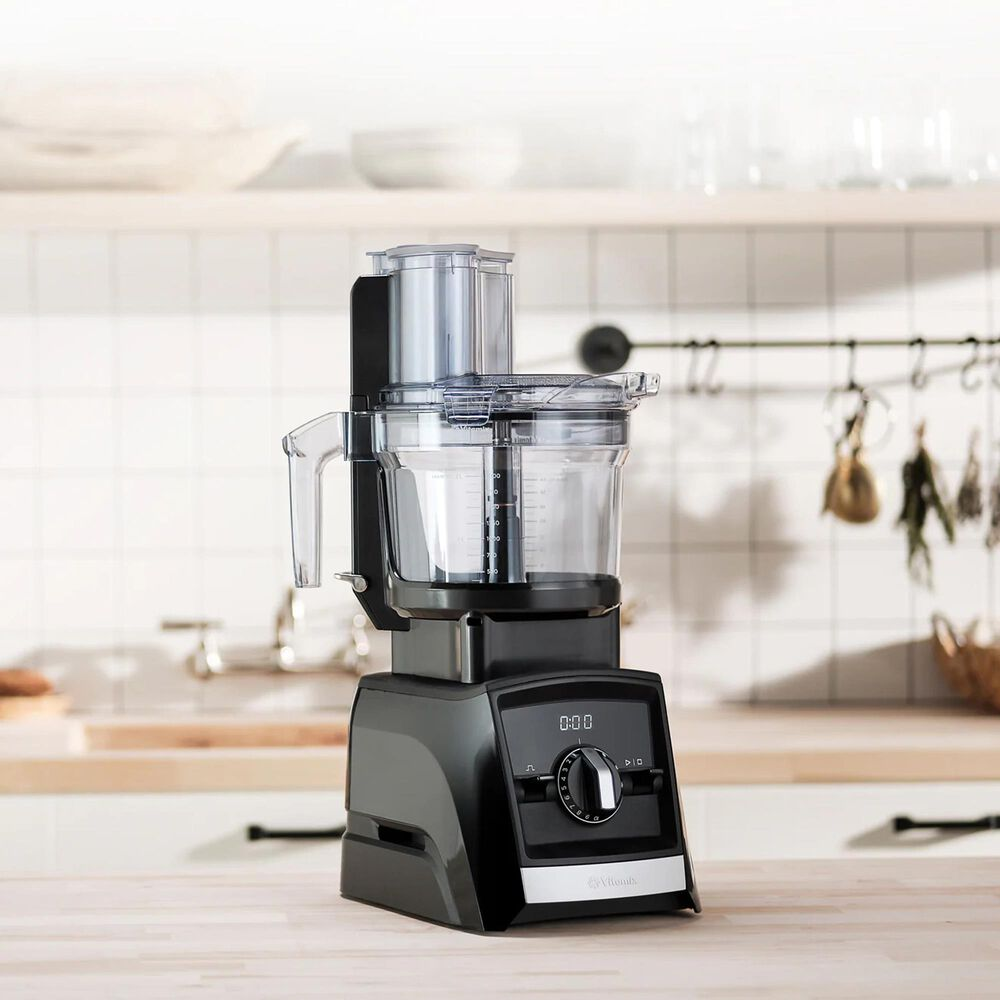 Vitamix 12-Cup Food Processor Attachment in Black, , large