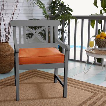 "Sorra Home Sunbrella 20"" Cushion in Canvas Rust, , large"