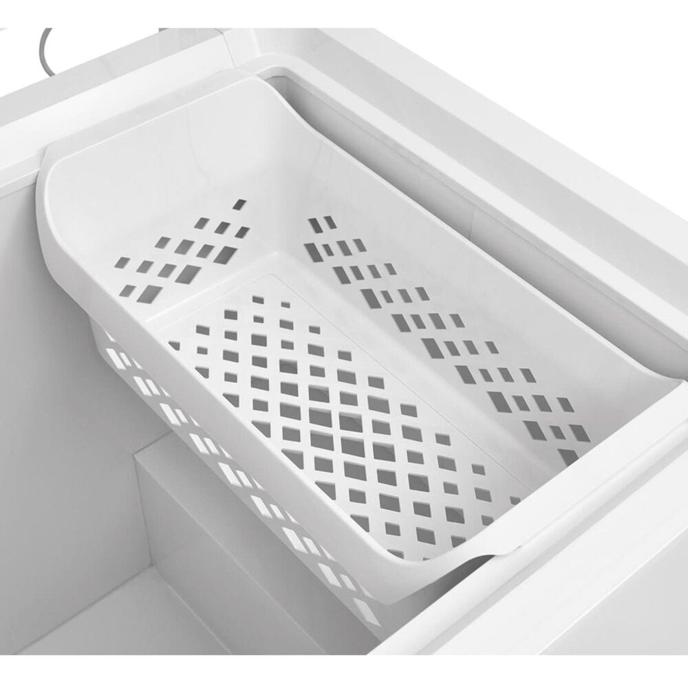 Frigidaire 24.8 Cu. Ft. Chest Freezer in White, , large