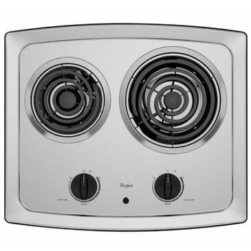 """Whirlpool 21"""" Electric Coil Cooktop, , large"""