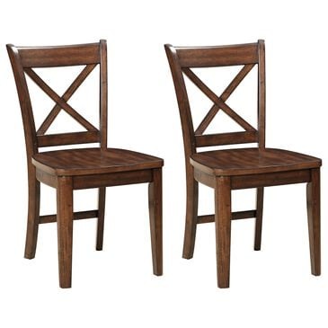 Chromcraft Cochrane Side Chair in Umber (Set of 2), , large