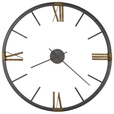 Howard Miller Prospect Park Wall Clock in Charcoal, , large