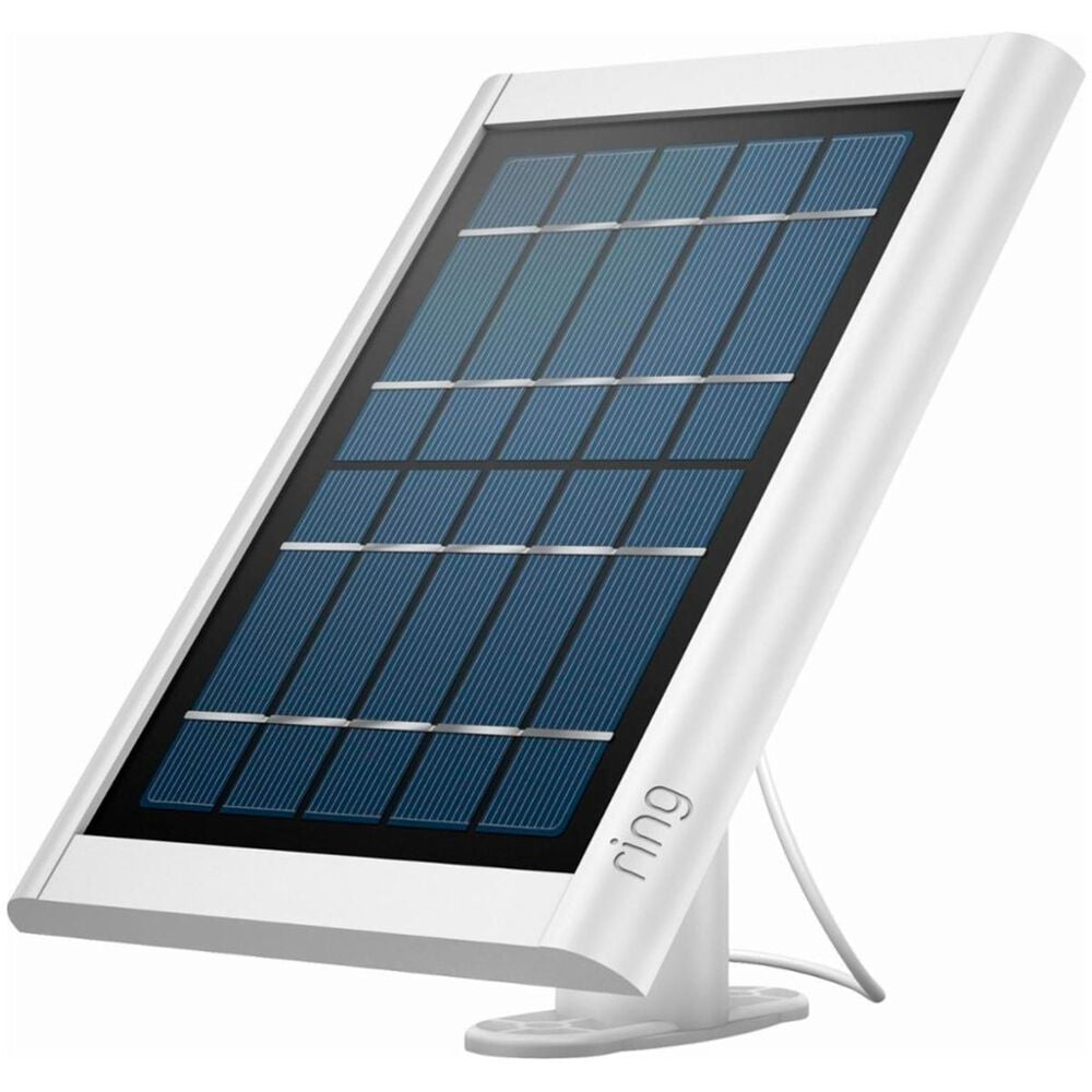 Ring Solar Panel (For Spotlight and Stick Up Cam Battery) - White, , large