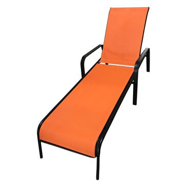 Redline Creation Inc. Oversized Lounge Chair in Orange, , large