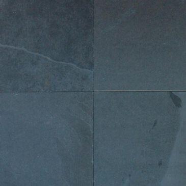 """MS International Montauk Black 24"""" x 24"""" Gauged Natural Stone Tile, , large"""