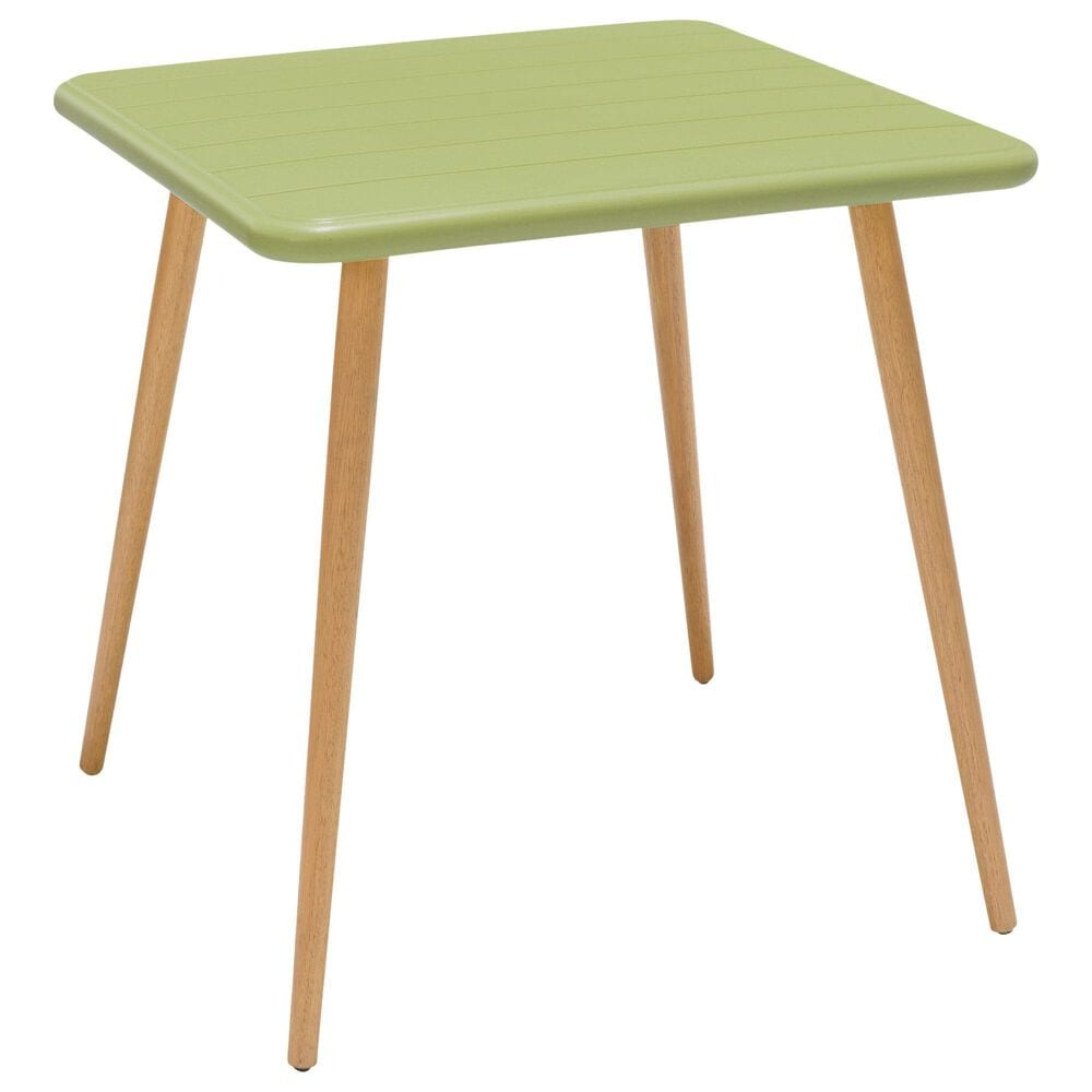 Blue River Nassau Patio Dining Table in Sage Green Eucalyptus, , large