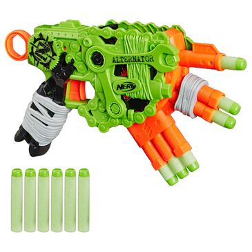 Hasbro Nerf Zombie Strike Alternator Blaster 12 Darts, , large