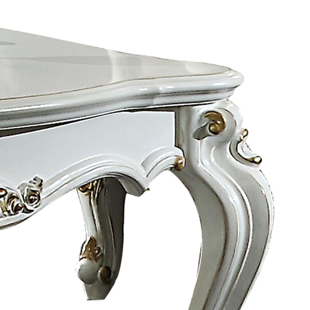 Gunnison Co. Picardy Coffee Table in Antique Pearl, , large