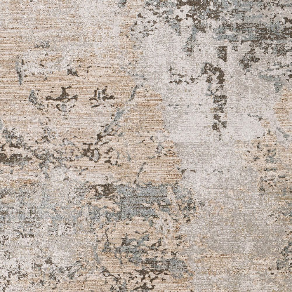 "Surya Brunswick 7'10"" x 10'3"" Sage, Gray, White, Blue and Brown Area Rug, , large"