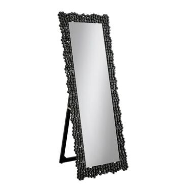 Pacific Landing Standing Mirror in Silver Smoky Gray, , large