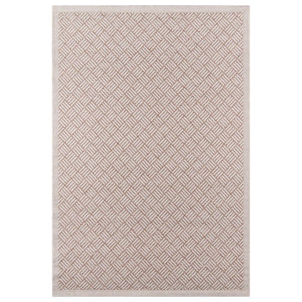 Momeni Como 2' x 3' Tan Indoor/Outdoor Area Rug, , large