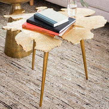 Moe's Home Collection Amoeba Side Table in Gold, , large