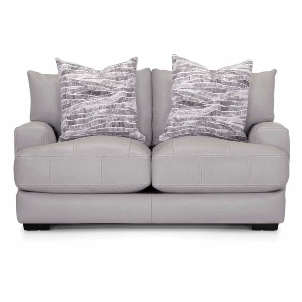 Moore Furniture Antonia Loveseat in Light Gray, , large