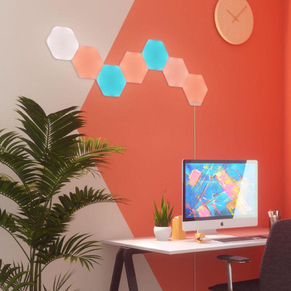 Nanoleaf Shapes Hexagon 7-Piece Smarter Kit, , large