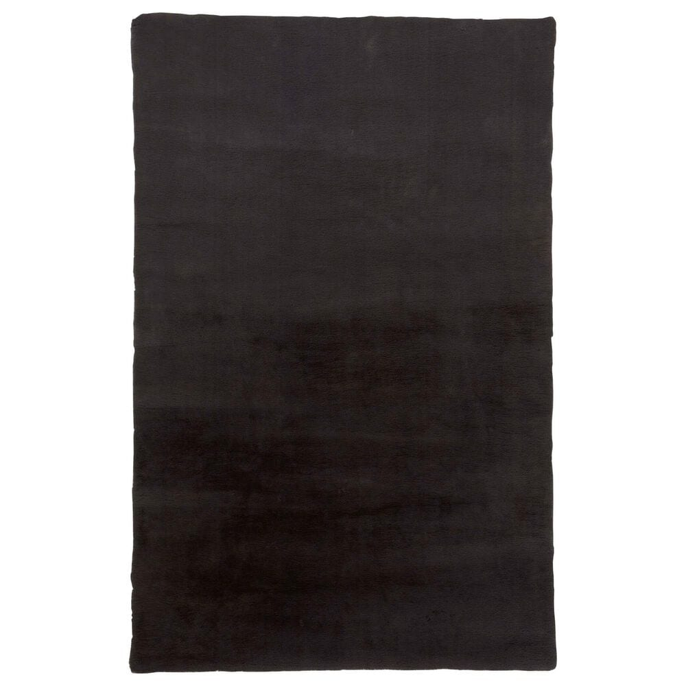 """Feizy Rugs Luxe Velour 5' x 6'6"""" Slate Area Rug, , large"""