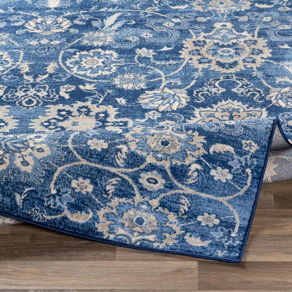 "Surya Monaco MOC-2307 7'9"" x 10'3"" Bright Blue, Khaki and Gray Area Rug, , large"