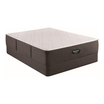Simmons Beautyrest Hybrid 1000-C Plush Queen Mattress with High Profile Box Spring, , large