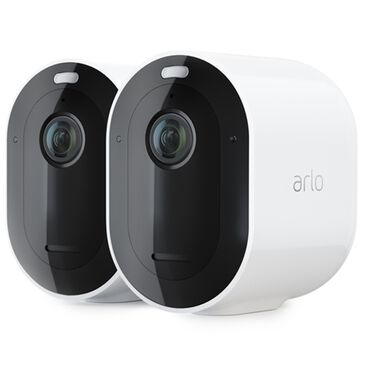 Arlo Pro 3 2K QHD Wire-Free Security 2 Camera System in White, , large