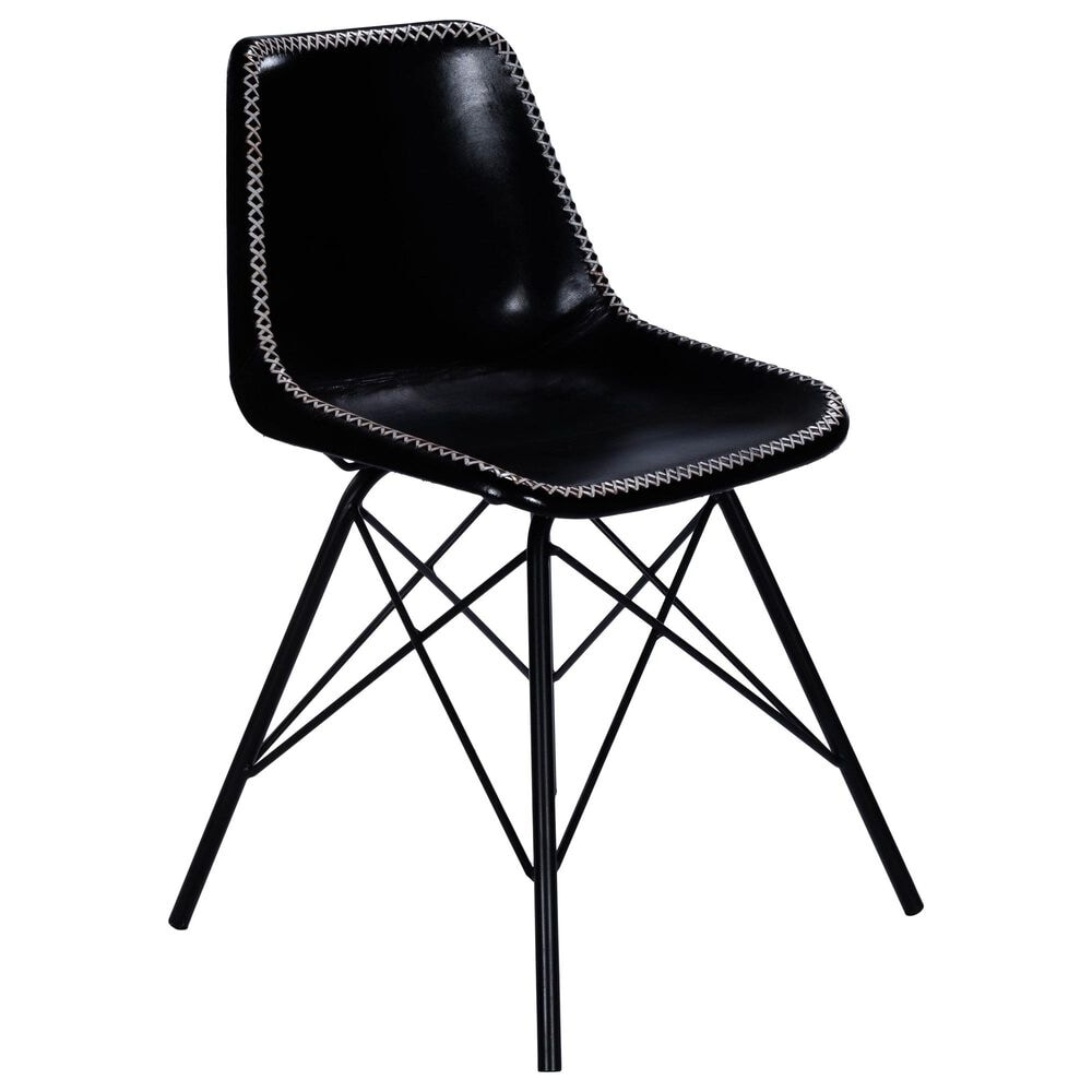 Butler Inland Side Chair in Black, , large