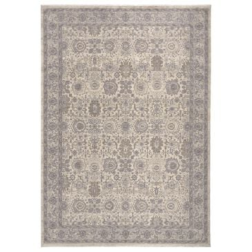 "Feizy Rugs Marquette 3776F 4' x 5'3"" Beige and Gray Area Rug, , large"