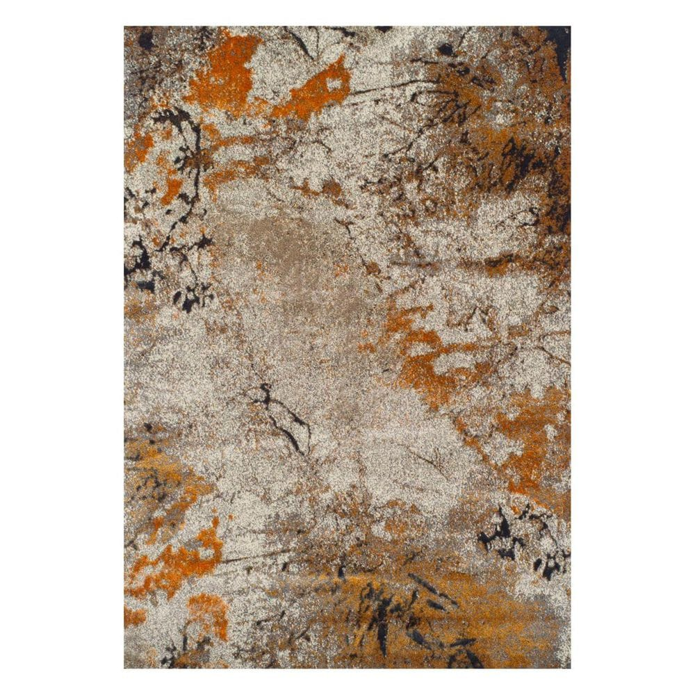 "Dalyn Rug Company Rossini RS2060 3'3'' x 5'1"" Tangerine Area Rug, , large"