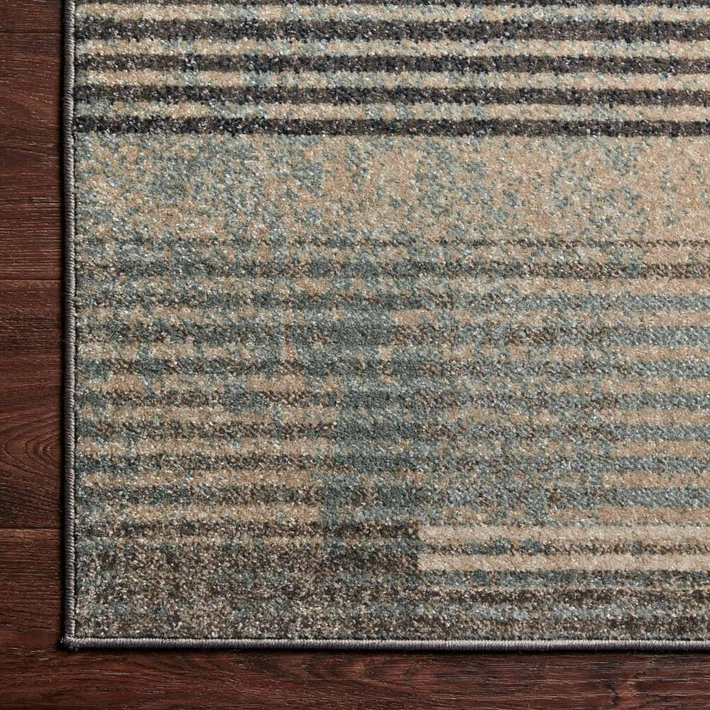 """Loloi II Bowery 2'3"""" x 7'6"""" Storm and Taupe Runner, , large"""