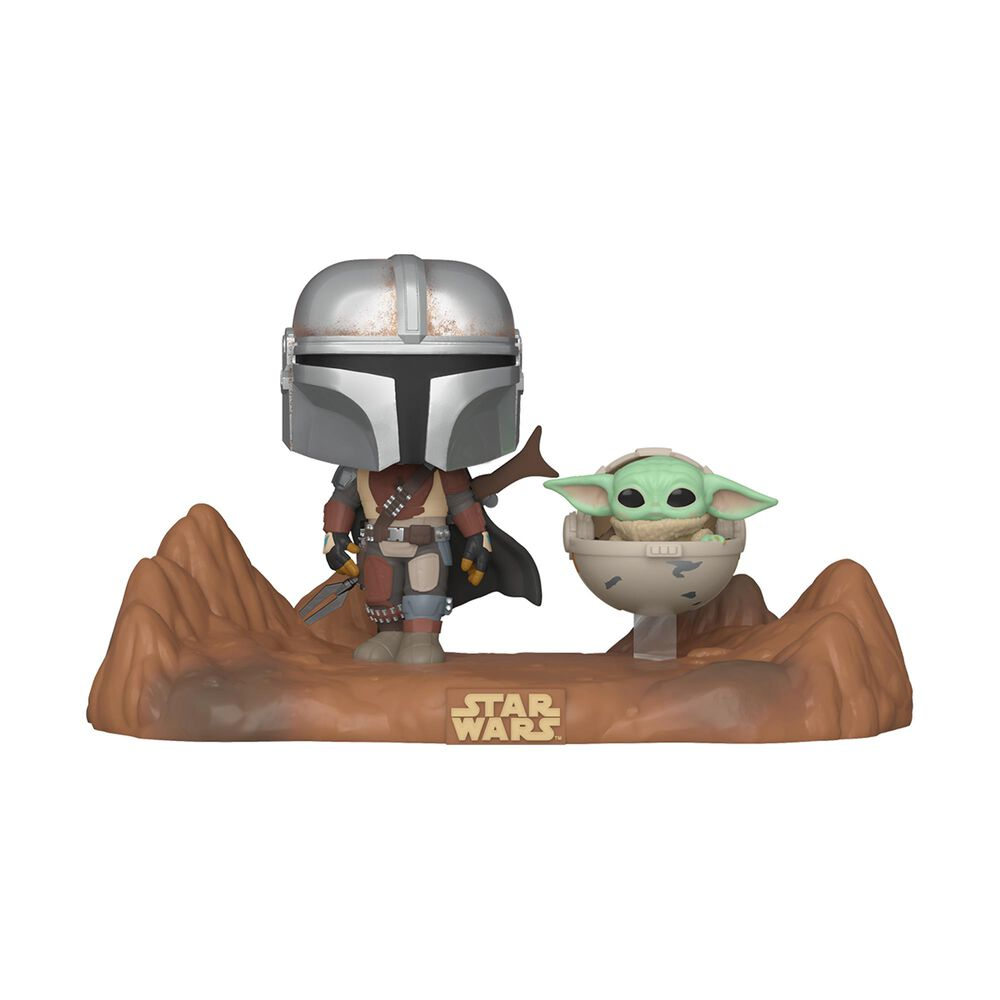 Funko Pop! Moment: Star Wars The Mandalorian with The Child , , large