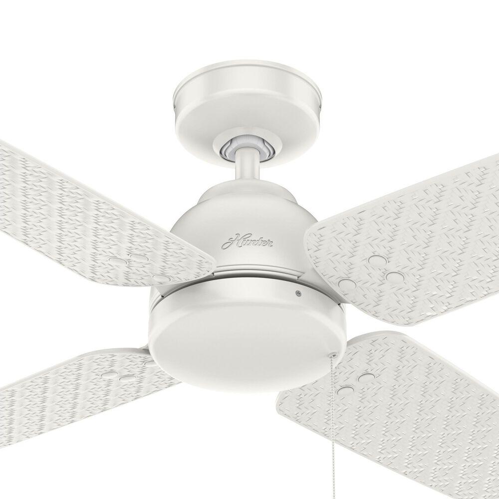 "Hunter Sunnyvale 52"" Outdoor Ceiling Fan in Fresh White, , large"