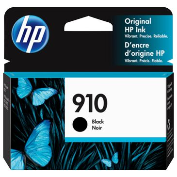 HP 910 Black Ink Cartridge, , large
