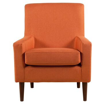 Overman International Corp Jitterbug Accent Chair in Mango, , large
