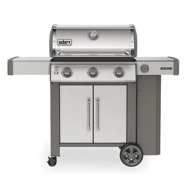 Weber Genesis II S-315NG in Stainless, , large