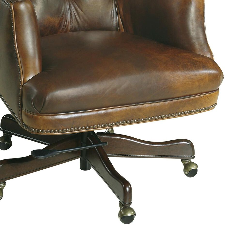 Hooker Furniture Parthenon Temple-87 Executive Swivel Tilt Chair in Brown, , large