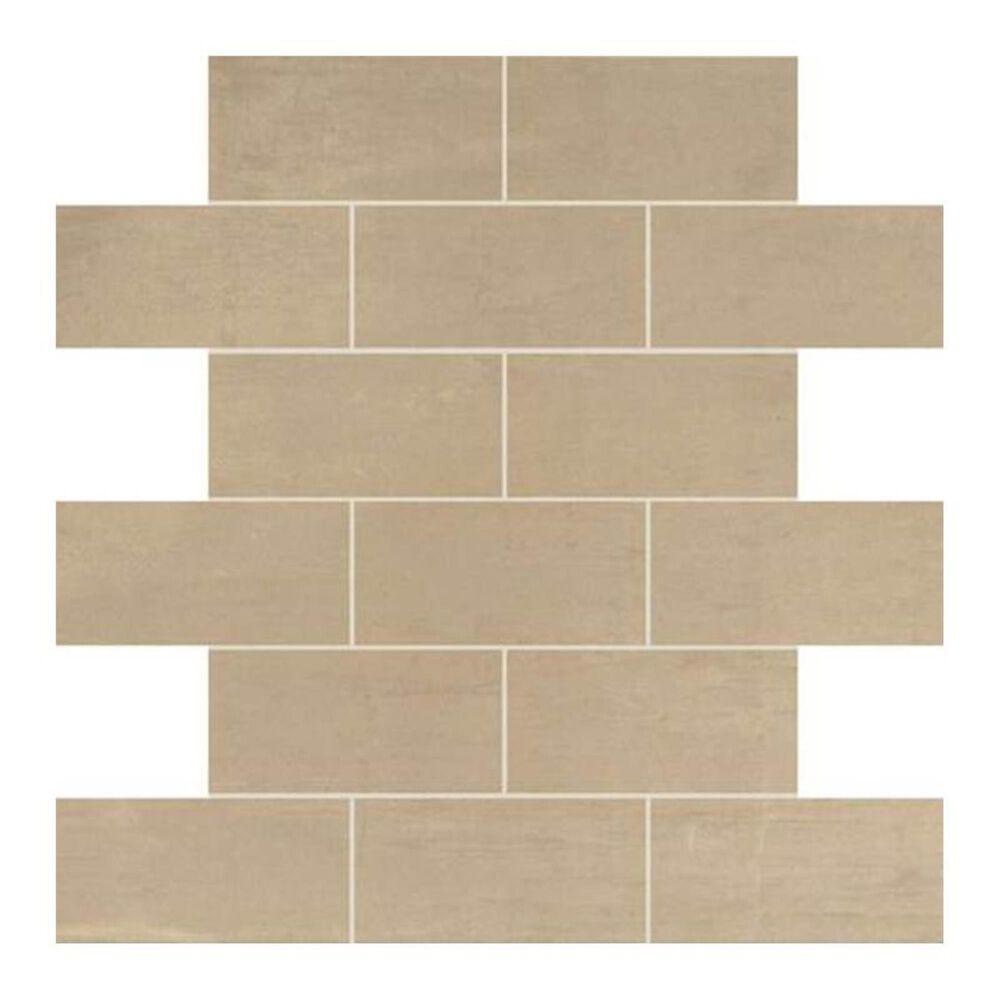 "Dal-Tile Skybridge 2"" x 4"" Ceramic Brick Joint Mosaic Tile in Beige, , large"