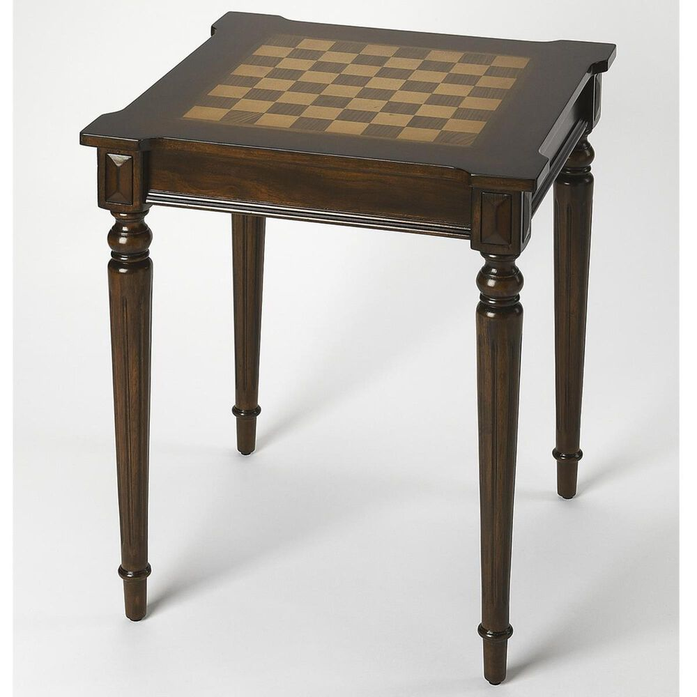 Butler Doyle Game Table in Plantation Cherry, , large