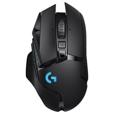 Logitech G502 Lightspeed Wireless Gaming Mouse in Black, , large