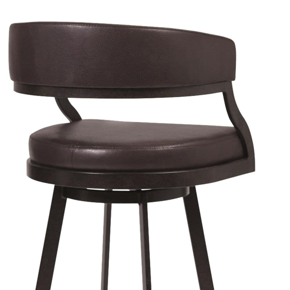 """Blue River Saturn 26"""" Counter Stool with Ford Brown Seat in Auburn Bay, , large"""