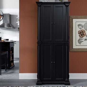 Home Styles Beacon Hill Pantry in Black, , large