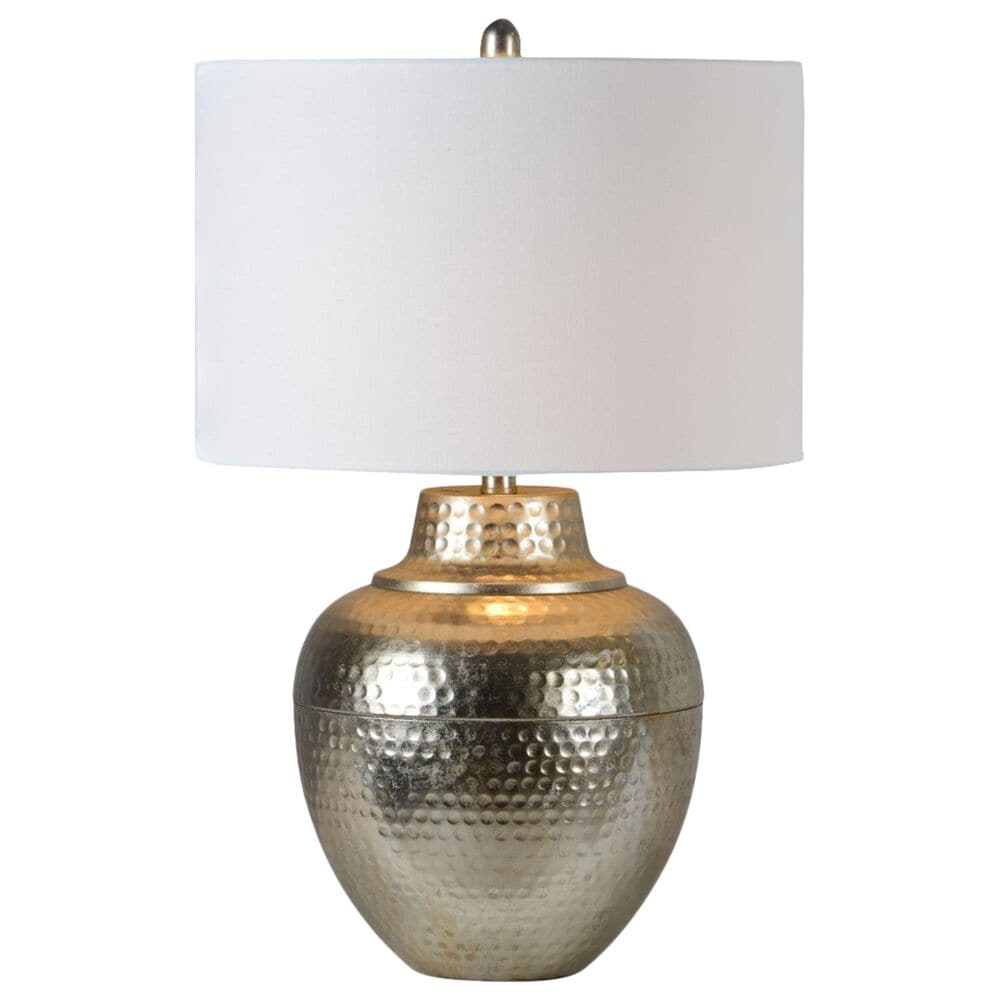 Southern Lighting Sydney Table Lamp in Silver, , large