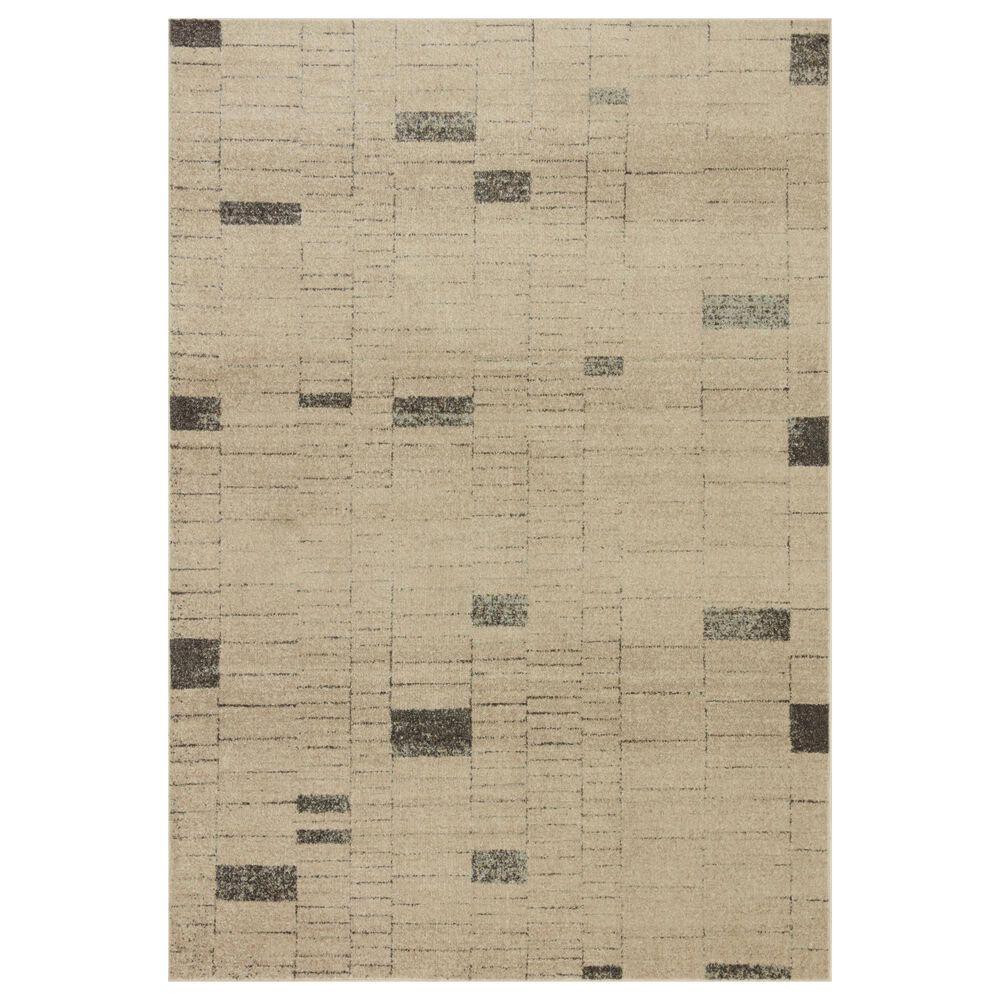 "Loloi II Bowery 7'10"" x 10' Slate and Taupe Area Rug, , large"