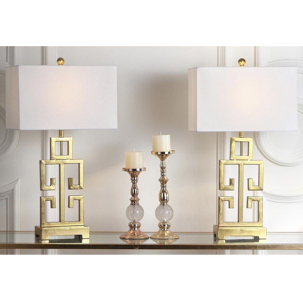 "Safavieh Greek 29"" Key Table Lamp in Antique Gold (Set of 2), , large"