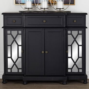 Maple and Jade Cabinet in Black, , large