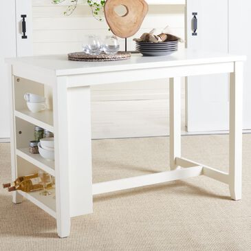 Safavieh Aero Counter Height Table in White, , large