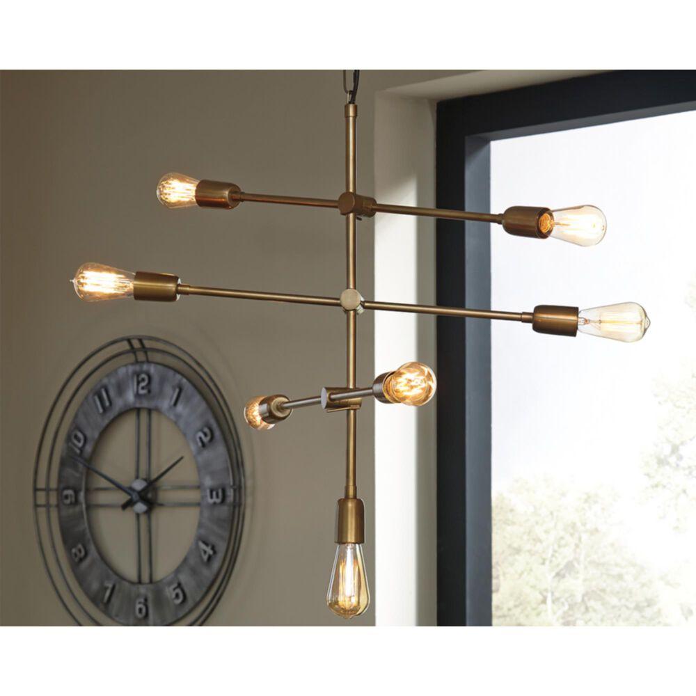 37B Nastalya Metal Pendant Light in Gold, , large