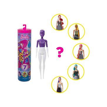 Mattel Barbie Color Reveal Doll with 7 Surprises, , large
